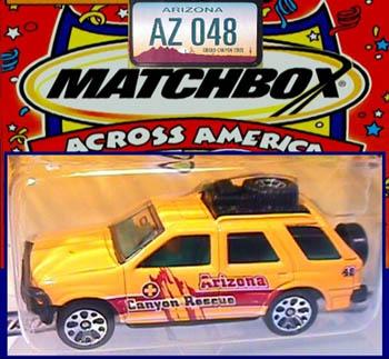 HTF Matchbox Across America  UTAH