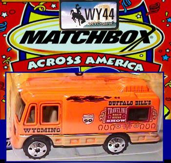 Wyoming Ford Dealers >> Matchbox Across America Models