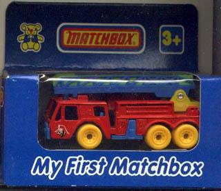 Preschfiretruck on Matchbox Dodge Dakota